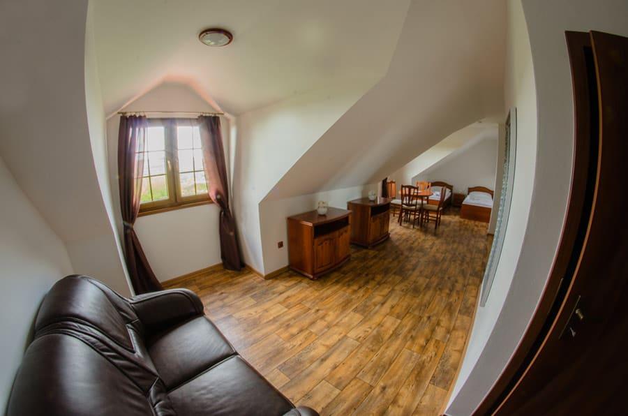 4 lůžkový pokoj na Mušlově - apartmán
