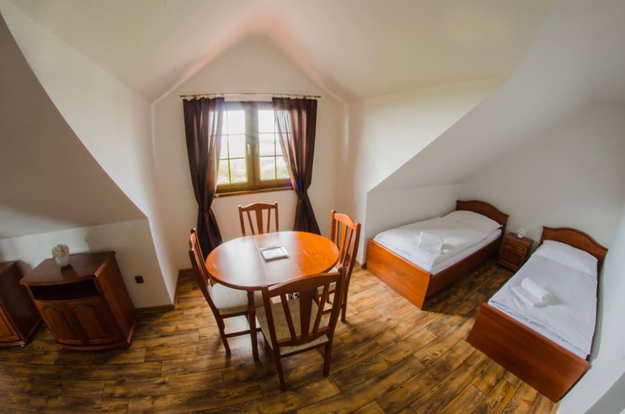 4 lůžkový pokoj na Mušlově