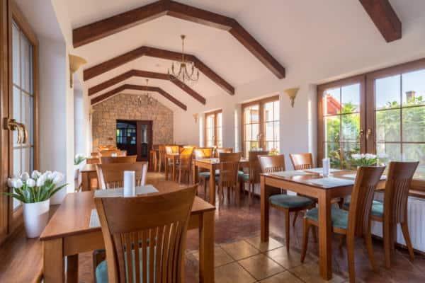 Restaurace v penzionu Mušlov